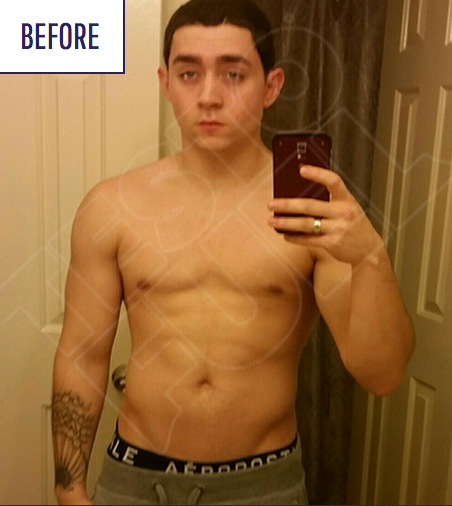 TestoFuel Review - Before Picture