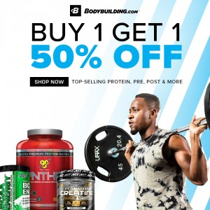 Buy 1 Get 1 50% off on Selected Supplements