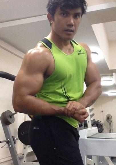 Muscle Pharm Before