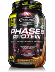 MuscleTech Phase 8 Protein Review