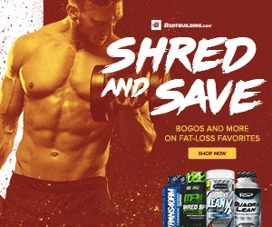 Shred and Save on Selected Supplements!