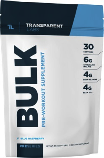 Transparent Labs Pre-series Bulk (Pre-Workout)