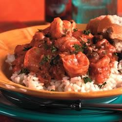 Shrimp and Sausage Etouffee